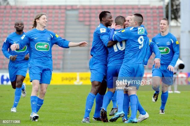 Joie Jean Michel LESAGE Creteil / Nice 32eme Finale Coupe de France
