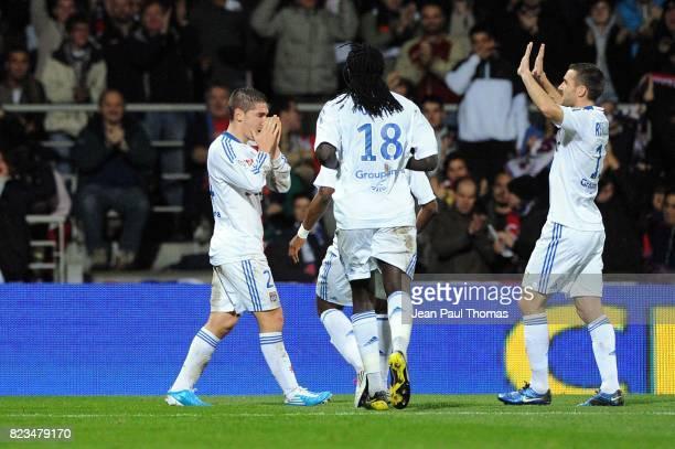 Joie Jeremy PIED Lyon / Nice 13e journee Ligue 1