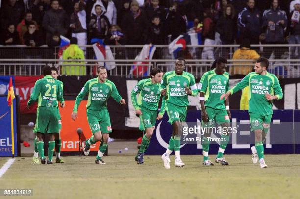 Joie Kevin MIRALLAS Lyon / Saint Etienne 22e journee ligue 1