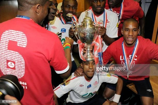 Joie Lille Franck Beria PSG / Lille Finale de la Coupe de France 2011 Stade de France