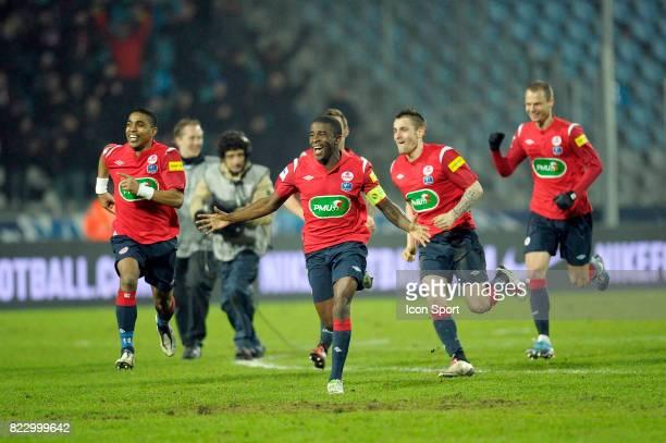 Joie Lille Franck BERIA / Rio MAVUBA Lille / Lorient 1/4 Finale de la Coupe de France 2010/2011