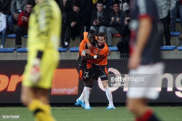 Joie Lynel KITAMBALA / Kevin GAMEIRO Lorient / Paris Saint Germain 13e journee Ligue 1
