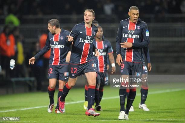 Joie Mathieu BODMER Lyon / PSG 8eme Finale Coupe de la Ligue