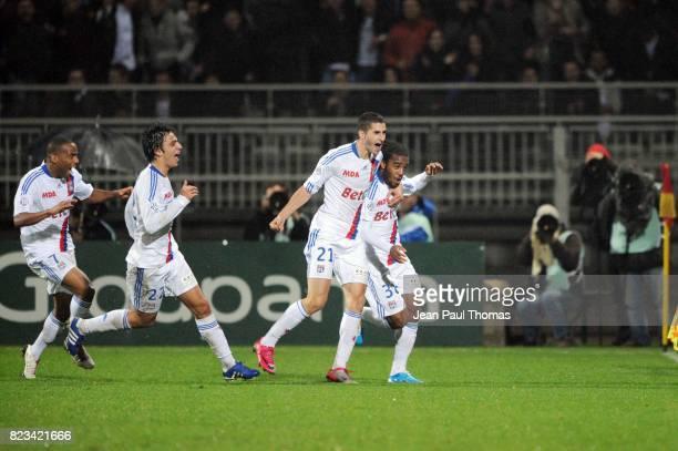 Joie Maxime GONALONS / Alexandre LACAZETTE Lyon / Sochaux 11eme journee de Ligue 1