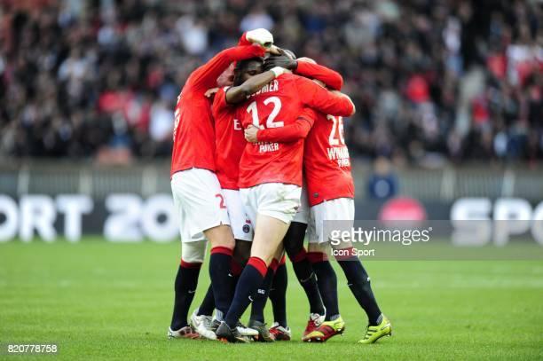 Joie PSG / Mathieu BODMER PSG / Toulouse 25e journee de Ligue 1