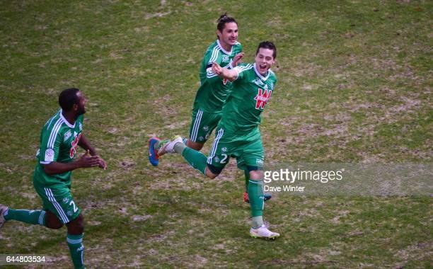 Joie Romain HAMOUMA Reims / Saint Etienne 20eme journee de Ligue 1 Photo Dave Winter / Icon Sport