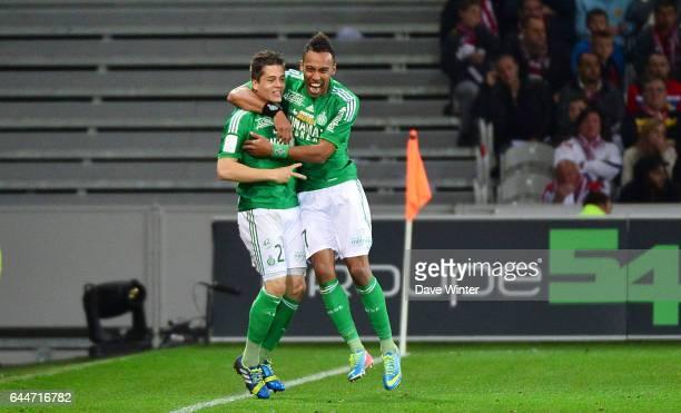 Joie Romain HAMOUMA / Pierre Emerick AUBAMEYANG Lille / Saint Etienne 38e journee Ligue 1 Photo Dave Winter / Icon Sport