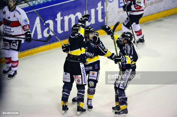 Joie Rouen Hockey sur glace Rouen / Briancon 1/2Finale Coupe de France Photo Dave Winter / Icon Sport