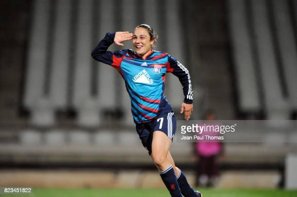 Joie Sandrine BRETIGNY Lyon / FC Rossiyanka 8eme de Finale Ligue des champions