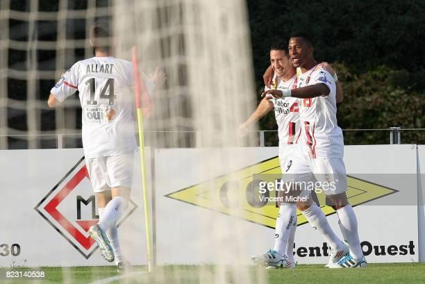 Joie Virgil RESET LAval / Boulogne 3e journee Ligue 2