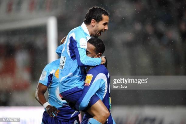 Joie Walid MESLOUB / Hassan ALLA Sedan / Le Havre 28e journee Ligue 2