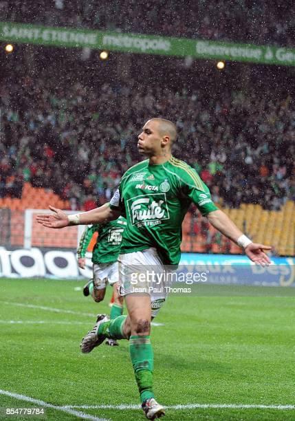 Joie Yohan BENALOUANE Saint Etienne / Le Mans 31eme journee de Ligue 1 Stade Geoffroy Guichard