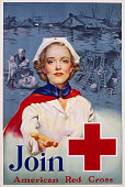 Join American Red Cross Recruitment Poster by RC Kauffmann