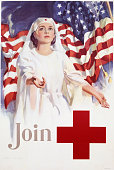 Join Red Cross Recruitment Poster by Walter W Seaton