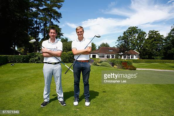 Barber Joint : Joint Leaders Matthew Barber and Paul Elvin of Chelsfield Lakes Golf ...
