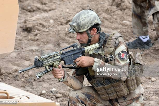 A joint military drill conducted by Turkish Armed Forces with the participation of Iraqi army troops continue on its sixteenth day near Habur border...