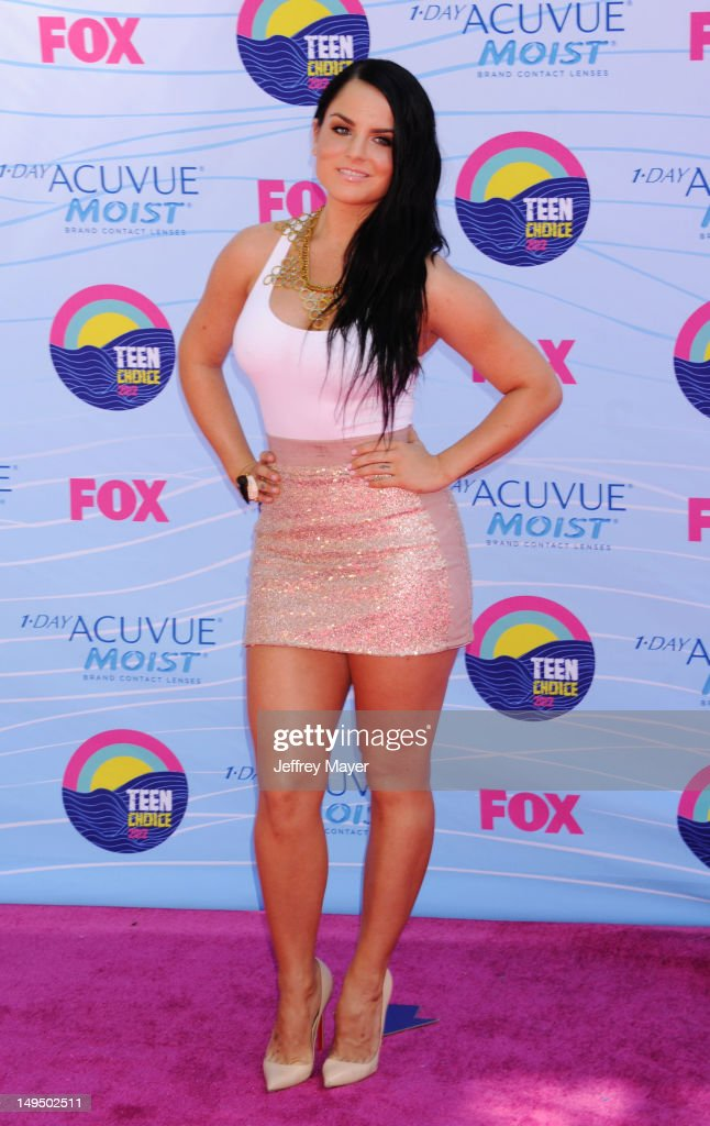 JoJo arrives at the 2012 Teen Choice Awards at Gibson Amphitheatre on July 22, 2012 in Universal City, California.