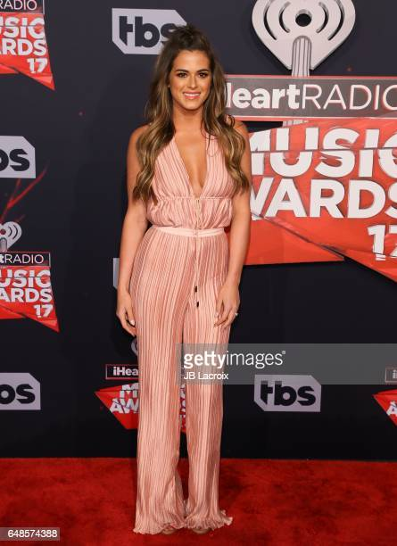 Jojo Fletcher attends the 2017 iHeartRadio Music Awards at The Forum on March 5 2017 in Inglewood California