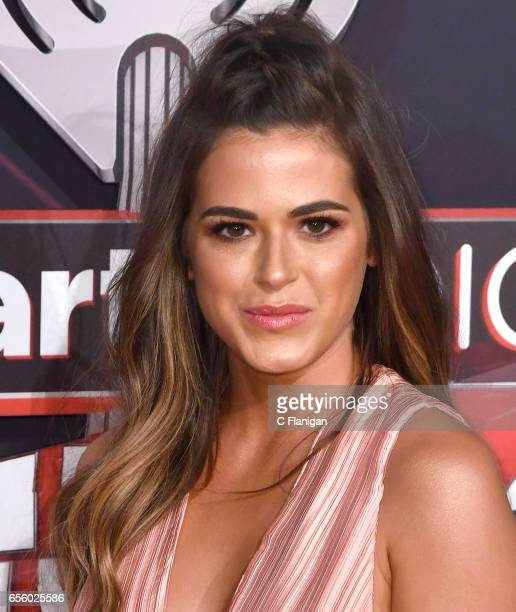 Jojo Fletcher attends the 2017 iHeartRadio Music Awards which broadcast live on Turner's TBS TNT and truTV at The Forum on March 5 2017 in Inglewood...