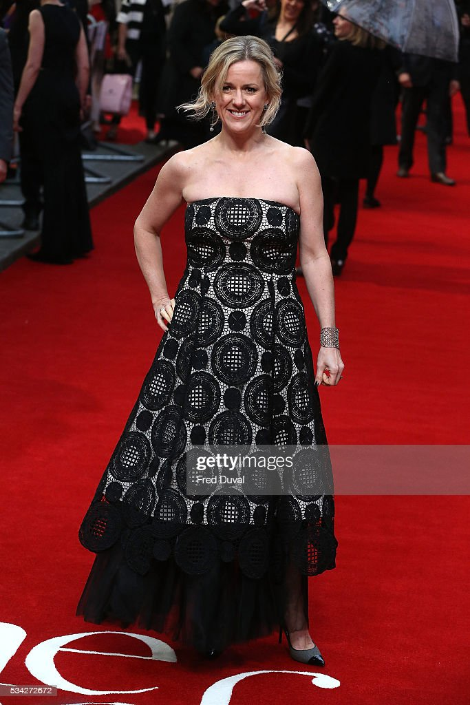Jojo Moyes attend the European film premiere 'Me Before You' at The Curzon Mayfair on May 25, 2016 in London, England.