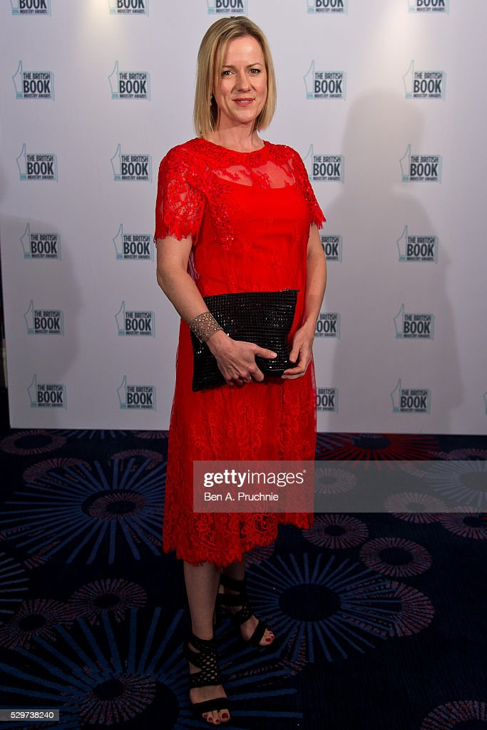 Jojo Moyes attends the 2016 British Book Industry Awards at the Grosvenor House Hotel on May 9, 2016 in London, England.