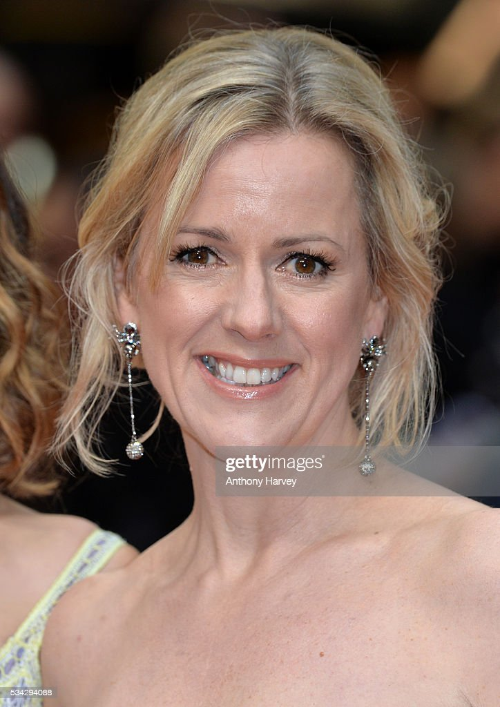 Jojo Moyes attends the European film premiere 'Me Before You' at The Curzon Mayfair on May 25, 2016 in London, England.
