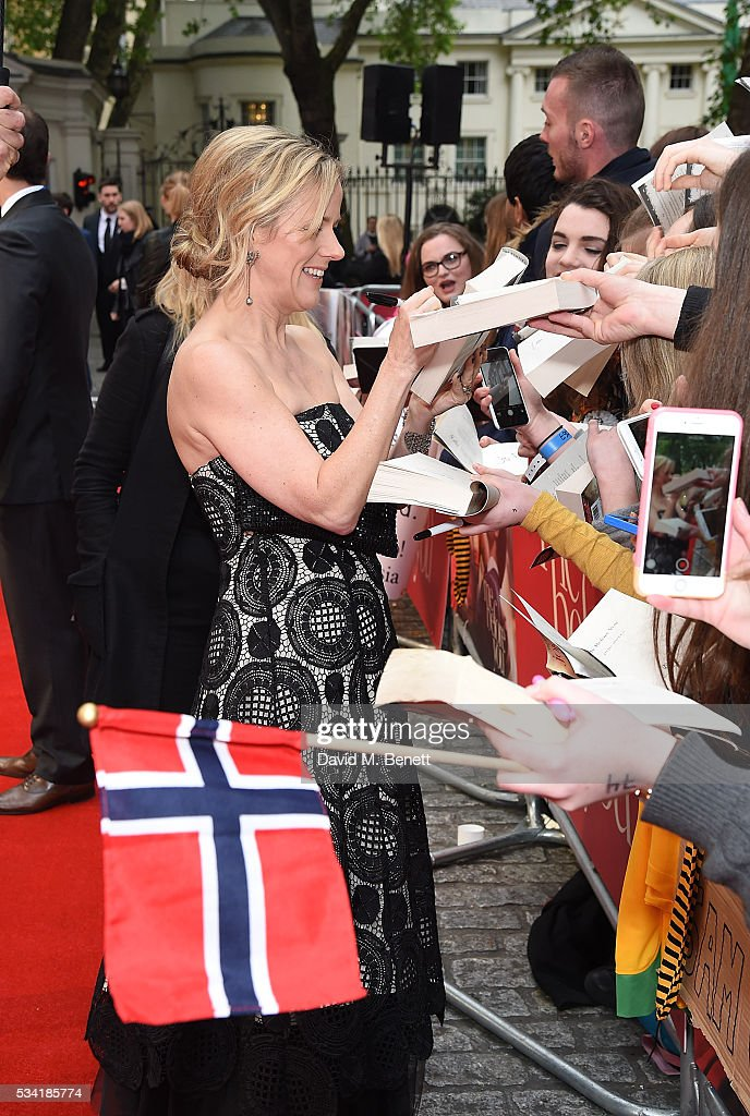 Jojo Moyes attends the European Premiere of 'Me Before You' at The Curzon Mayfair on May 25, 2016 in London, England.