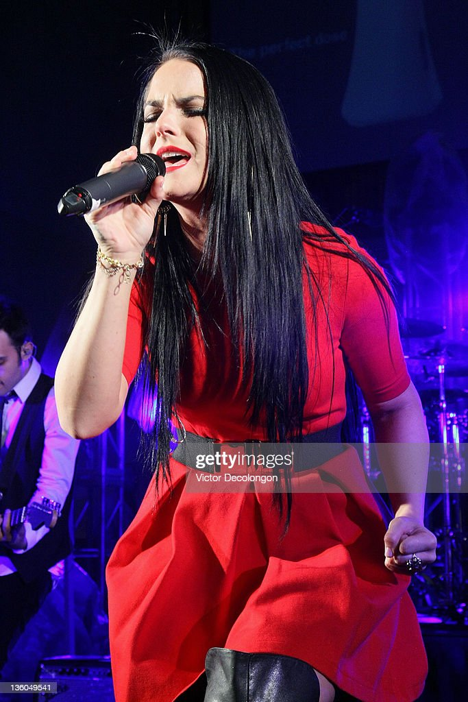 JoJo performs at Hollywood and Highland on December 17 2011 in Hollywood California