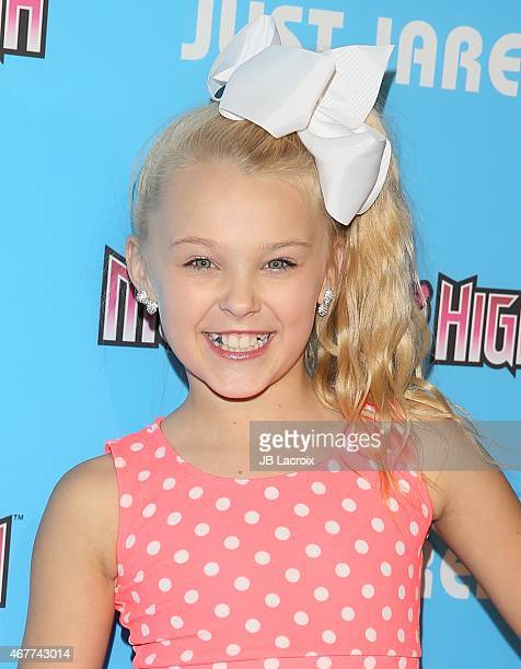 Jojo Siwa attends Just Jared's Throw Back Thursday Party at the Moonlight Rollerway on March 26 2015 in Glendale California