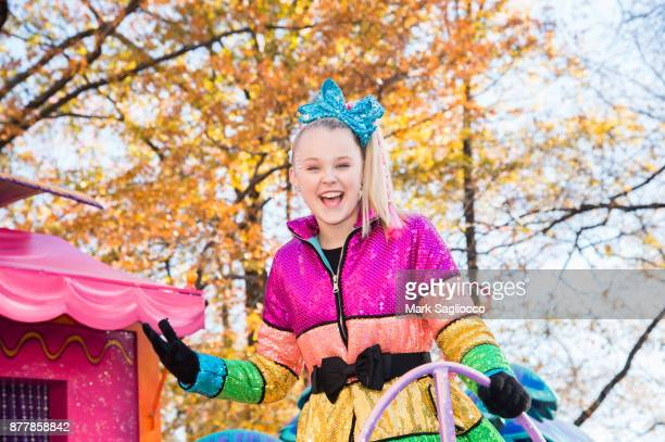 JoJo Siwa attends the 91st Annual Macy's Thanksgiving Day Parade on November 23 2017 in New York City