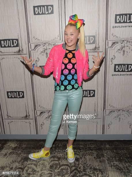 Jojo Siwa visits Build Series at Build Studio on August 2 2017 in New York City