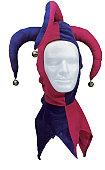 joker head gear on dummy head