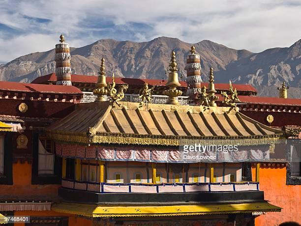Jokhang monastery roof