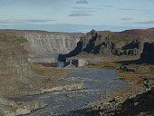 Jokulsa a Fjollum river and canyon, Iceland