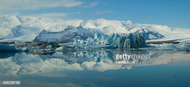 Jokulsarlon Glacier Lagoon, Vatnajokull Ice cap