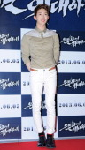 JoKwon attends 'Secretly and Greatly' VIP press screening at COEX Megabox on May 27 2013 in Seoul South Korea