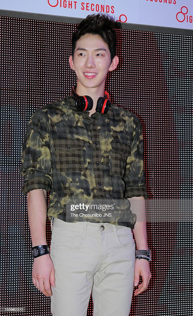Jo-Kwon attends the '8 seconds' Opening Event at Gangnam 8 seconds store on September 21, 2012 in Seoul, South Korea.