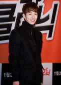 JoKwon attends the 'ToneDeaf Clinic' VIP Press Screening at Gun Dae Lotte Cinema on November 20 2012 in Seoul South Korea
