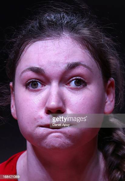 Jolanta Wior of Poland A competes in Women's 75kg Snatch during day six of the 2013 Junior Weightlifting World Championship at Maria Angola...