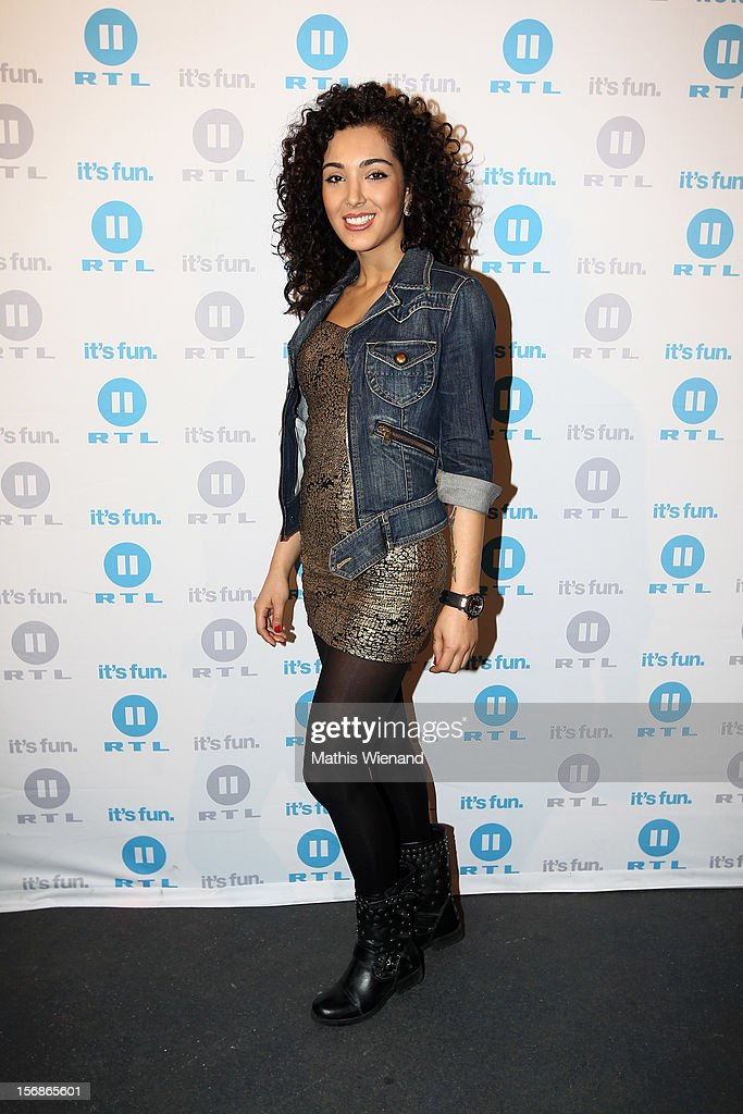 Joleen Daatis attends the 'Koeln 50667' Press Conference at the Kunstbar on November 23, 2012 in Cologne, Germany.