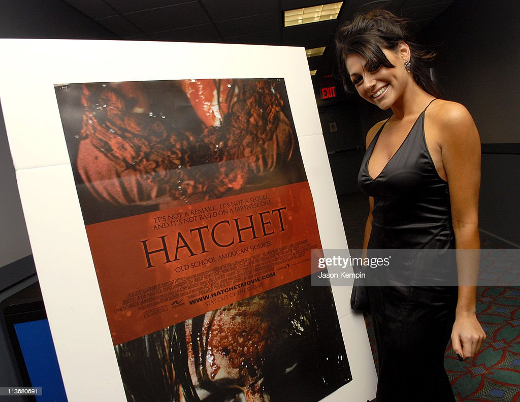Joleigh Fioreavanti during 5th Annual Tribeca Film Festival 'Hatchet' Premiere at AMC Lowes Village in New York City New York United States