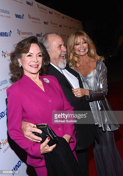 Jolene Brand producer George Schlatter and actress Goldie Hawn attend Goldie Hawn's inaugural 'Love In For Kids' benefiting the Hawn Foundation's...