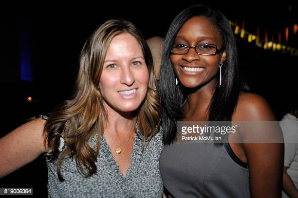 Jolie Schoeffer and Nia Batts attend The East Harlem School presents 2010 Spring Poetry Slam at Highline Ballroom on May 4 2010 in New York City
