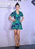 Jolin Tsai attends a foundation promotion activity on 23th September 2015 in Taipei Taiwan China