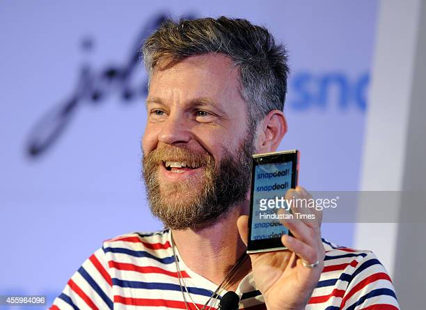 Jolla cofounder and Chief Operating Officer Marc Dillon during the launch of its maiden handset in the Indian market with collaboration with...