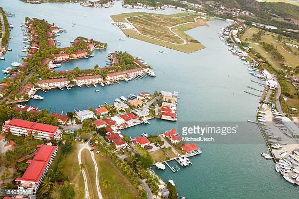 Jolly Harbor Aerial View