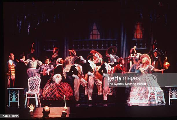 Jolson the musical at Her Majesty's Theatre 8 February 2000 SMH Picture by NARELLE AUTIO