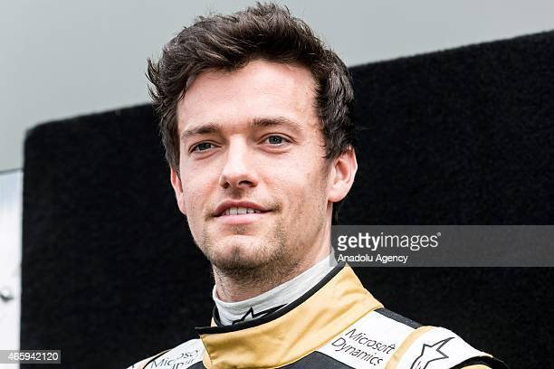 Jolyon Palmer of Great Britain and Lotus during the Driver Portrait photo session at the Rolex Australian Formula 1 Grand Prix Albert Park Melbourne...