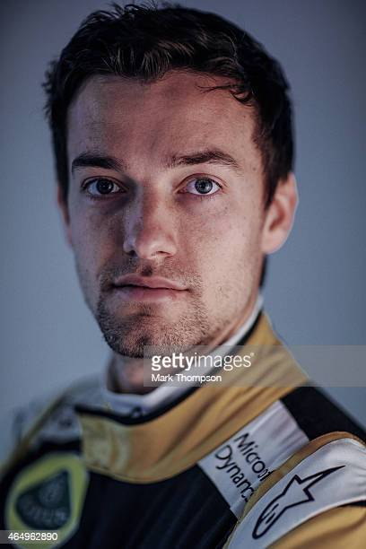 Jolyon Palmer of Great Britain and Lotus F1 poses for a portrait during day three of Formula One Winter Testing at Circuit de Catalunya on February...