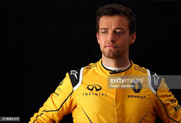 Jolyon Palmer of Great Britain and Renault Sport F1 during previews to the Australian Formula One Grand Prix at Albert Park on March 17 2016 in...